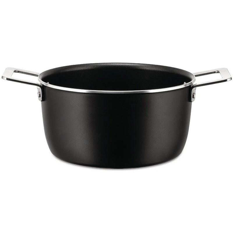 Casseruola antiaderente nera 20cm Pots & Pans
