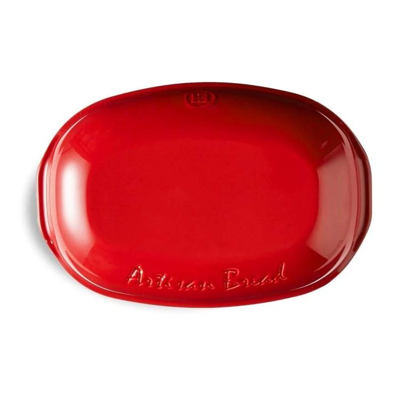 Cuoci pane ovale rosso
