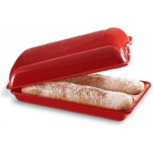 Cuoci pane ciabatte rosso
