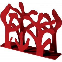 portatovaglioli verticale rosso mediterraneo