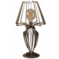 Lampada da tavolo bassa Minerva