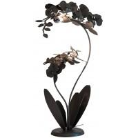 Lampada grande due fiori orchidea