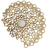 Plafoniera applique 83cm oro Notredame