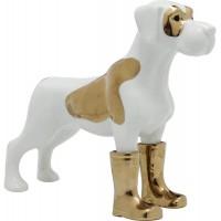 figura decorativa cane rubberboot 31cm