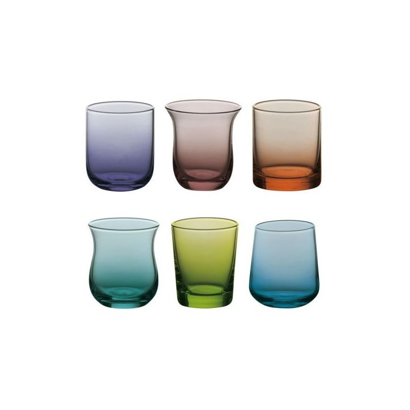 Set 6 bicchierini Diseguale