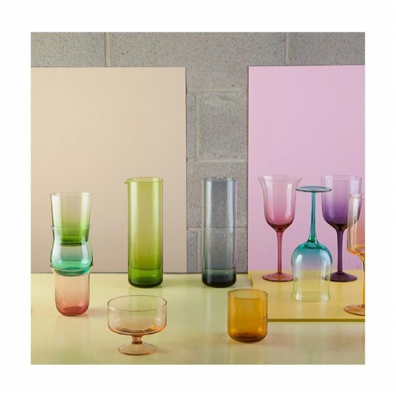 Set 6 bicchieri calice Diseguale