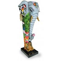 Statua elefante Costantin 30cm