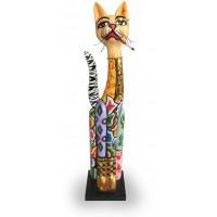 Statua gatto Samantha 32cm