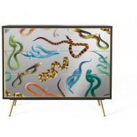 Cassettiera serpenti Toiletpaper