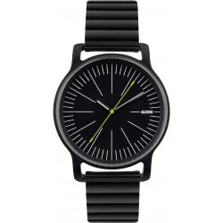 """l'orologio"" acciaio nero"