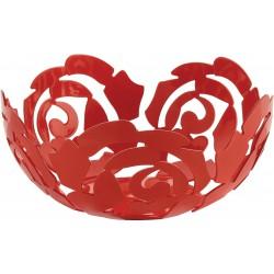 fruttiera rossa 21cm la rosa