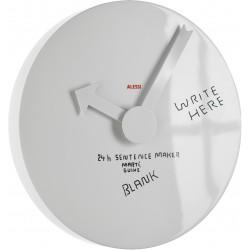 orologio lavagna blank wall
