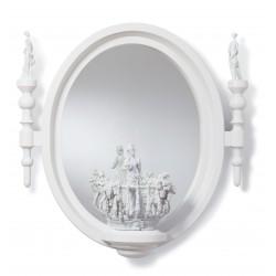 specchio piccolo ovale  re deco