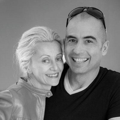 Michel Boucquillon e Donia Maaoui
