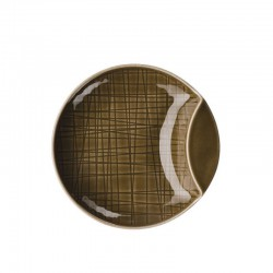 coppa piana 12 cm mesh walnut