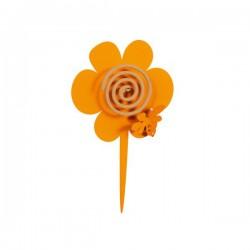 portazampi.ape s/fiori vaso arancio