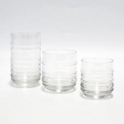 set bicchieri 18 pz