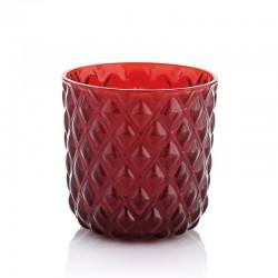 net set 6 pezzi bicchiere acqua rosso cl30