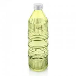 industrial chic bottiglia acqua verde acido con tapp
