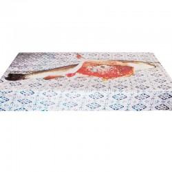 tovaglia in plastica stampata toiletpaper pesce