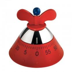 kitchen timer contaminuti rosso