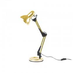 Lampada da tavolo Hobby metallo placcato oro