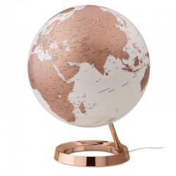 mappamondo copper inglese