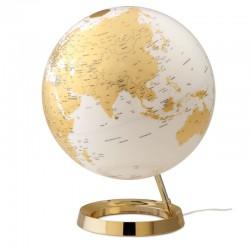 mappamondo bright gold