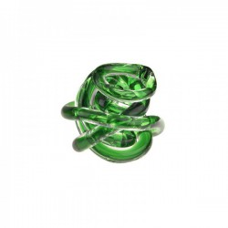 nodo dell'amore verde 8cm