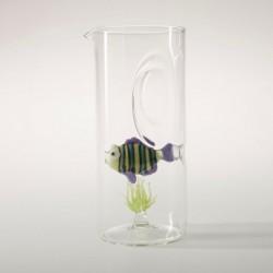 caraffa acquario pesce arcobaleno