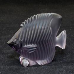 statua pesce cristallo papillon glicine
