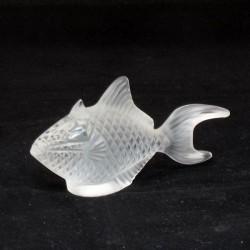 statua pesce cristallo baliste clair