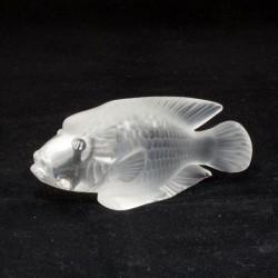 statua pesce cristallo napoleon clair