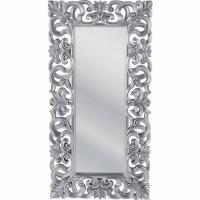 specchio italian baroque silver 180x90