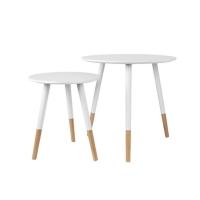 set tavolini Graceful bianco