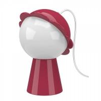 daisy lamp red