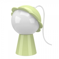 daisy lamp green