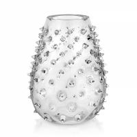 gothic vaso h.32 cm. trasparente t/f