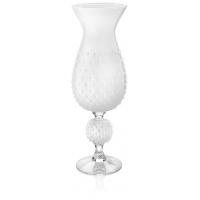 queen vaso h.62 cm. bianco