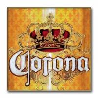 quadro in tela corona - cm 80x80