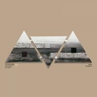 quadro tre triangoli grigio