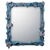 specchio gigli  azzurro