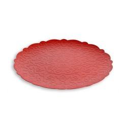 dressed,vassoio rotondo rosso