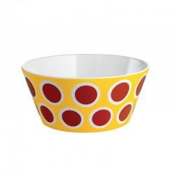 circus, ciotola in bone china decorata