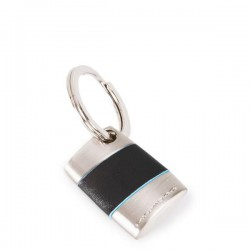 portachiavi ovale con anella blue square