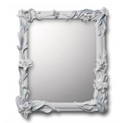 specchio gigli  bianco