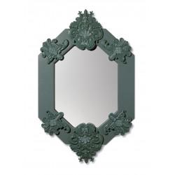 specchio ottagonale  verde